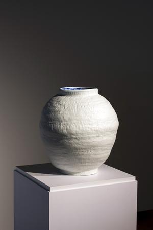 Blue White Vessel, 2018