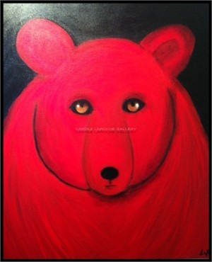 SOLD 'Red Bear'