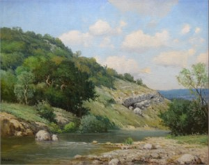 Headwaters of the Pedernales River, c. 1941