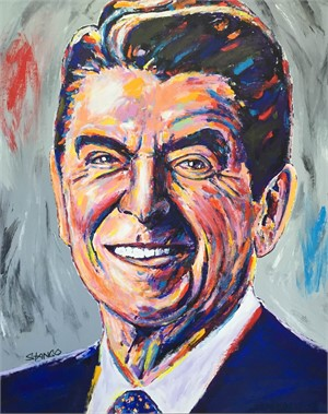 Presidential Portrait Series: Reagan