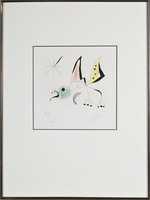 "Bird from ""Bague d'Aurore"" (IV/XII), 1957"