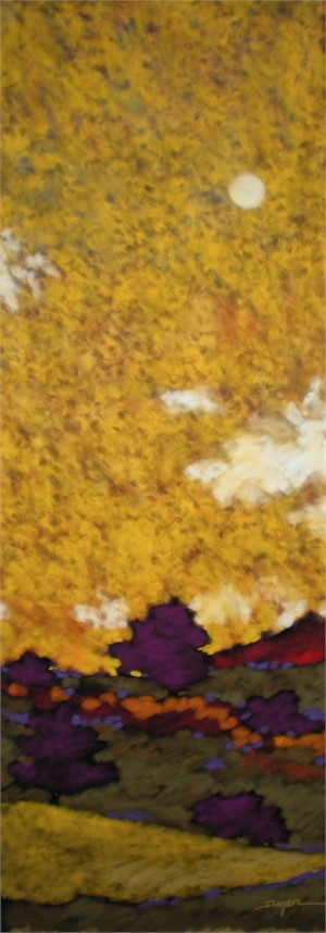 Amber Skies 49x17.5
