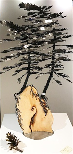 Burl Two Trees 3462, 2019