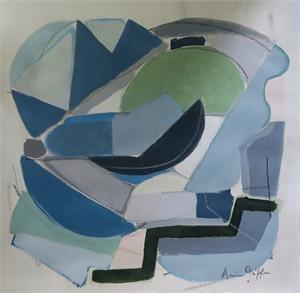 Sea Glass II, 2018