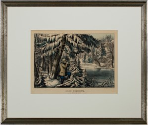 Deer Shooting In the Northern Woods, c1860