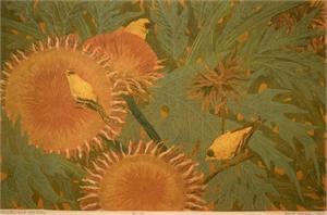 Finches and Artichokes, 1962
