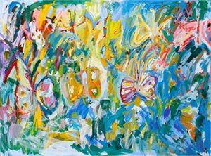 Butterflies, 2017, by Adrianne Rubenstein  by Bicoastal