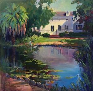 Selby Garden Pond by Linda Richichi