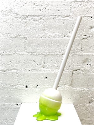 The Sweet Life, small, white/lime Lollipop, 2019