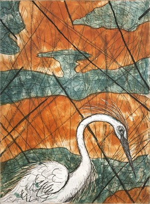 Snowy Egret (1/24), 2015