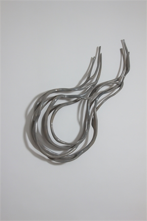 Grey Rope IV by Caprice Pierucci