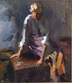 Woman & 3 Vessels
