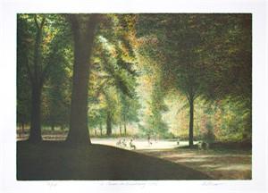 Le Jardin du Luxembourg by Harold Altman