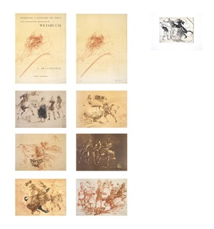 Homage A Leonard de Vinci (Complete Portfolio Set of 9 / De La Bataille Vol.1) (XI/L), 1978