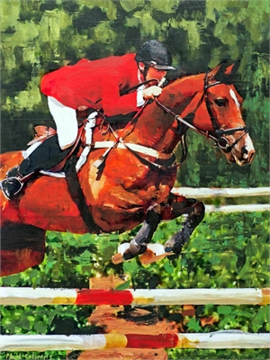 Centennial Olympics Equestrian by Plaid Columns