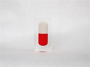 Tiny Red and White Pill , 2017