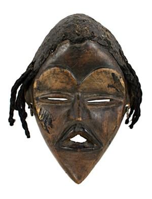Mask/Baule Ivory Coast, c1940