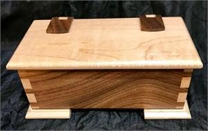 Walnut & Maple Box