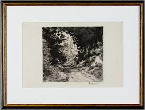 Road (landscape) State: IV/IV Ref. B.208, signed, c1870