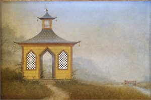 Tea House in the Mist by Elizabeth Leary