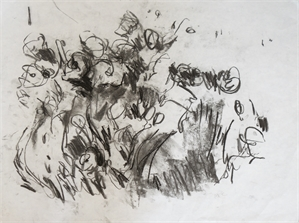 Flower Drawing 01, 2011