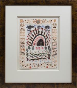 Native American Southwest Series: Purple Rain Love the Earth, 2008
