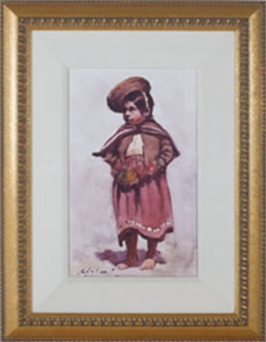 Vestido Regional (Girl in Her Regional Costume) - Cuzco, 1992