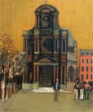 Cathedral with Gatherers, c. 1975