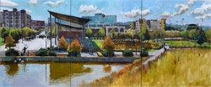 Railroad Park (Triptych)