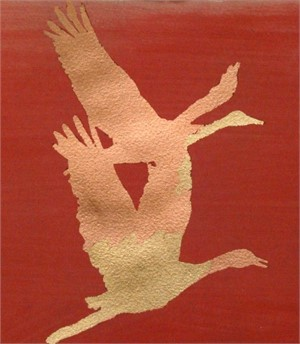Red, Copper, Gold, 2009