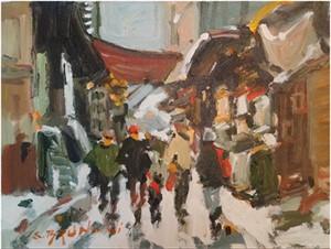 Quebec rue du tresor 1025047