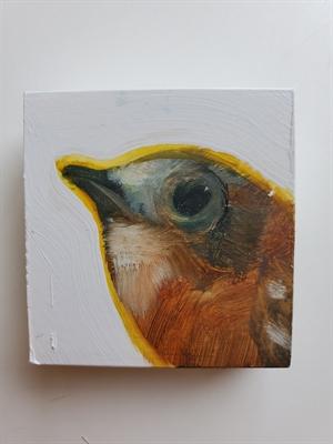 Small bird block, 2020
