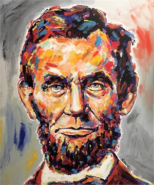 Presidential Portrait Series: Abe Lincoln