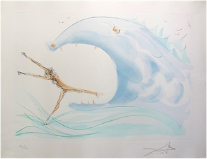 Jonah and the Whale (from Our Historical Heritage, suite of 11), 1975