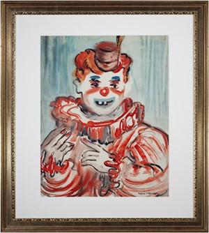 Clown Close Up, c.1940's - 1950's
