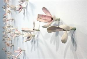 Floral Wall Installation (Rose Quartz), 2020
