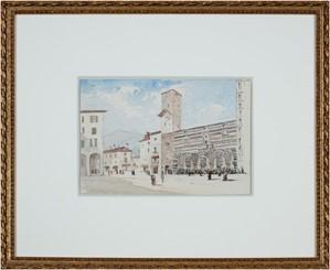 Italian Piazza, Rothschild Collection, c1875