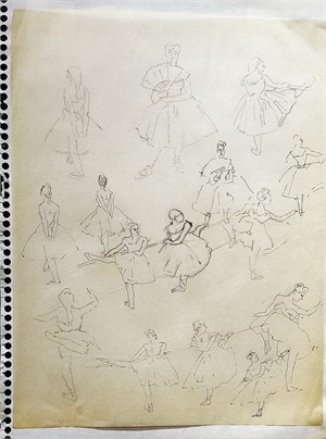 Dancers #27, 1928