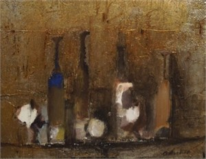 Bottle Still Life, c. 1960