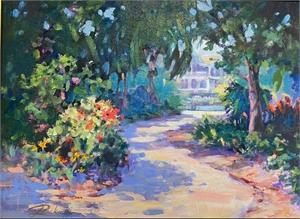 Selby Garden Path  by Linda Richichi