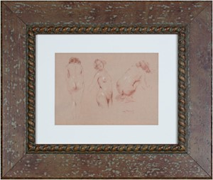 Study of Three Nudes, 2012