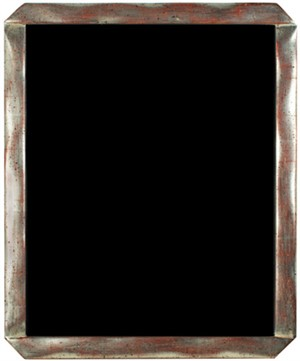 12K WHITE GOLD LEAF HANDMADE PHOTO FRAME 8X10 (Vertical -or- Horizontal), 2011