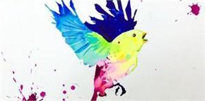Bird Study #5, 2017