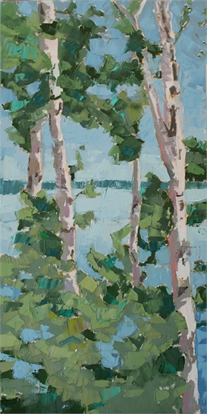 Trees and Water  II , 2019