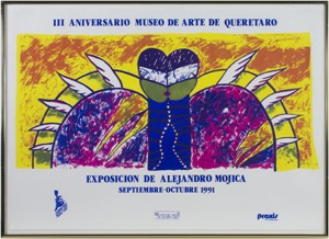 Exposicion de Alejandro Mojica, 1991