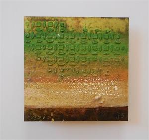 Small Metal Tile #66