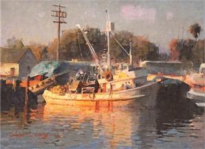 """CALVIN LIANG, OPAM, """"Fishing Boats"""""""