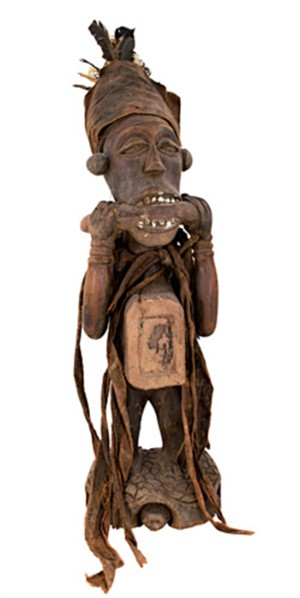 Bacongo Statue-Used as Fetish, Zaire, c.1900