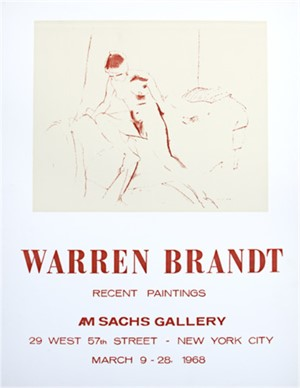A.M. Sachs Gallery, 1968
