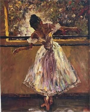 Practicing Ballet, 2019